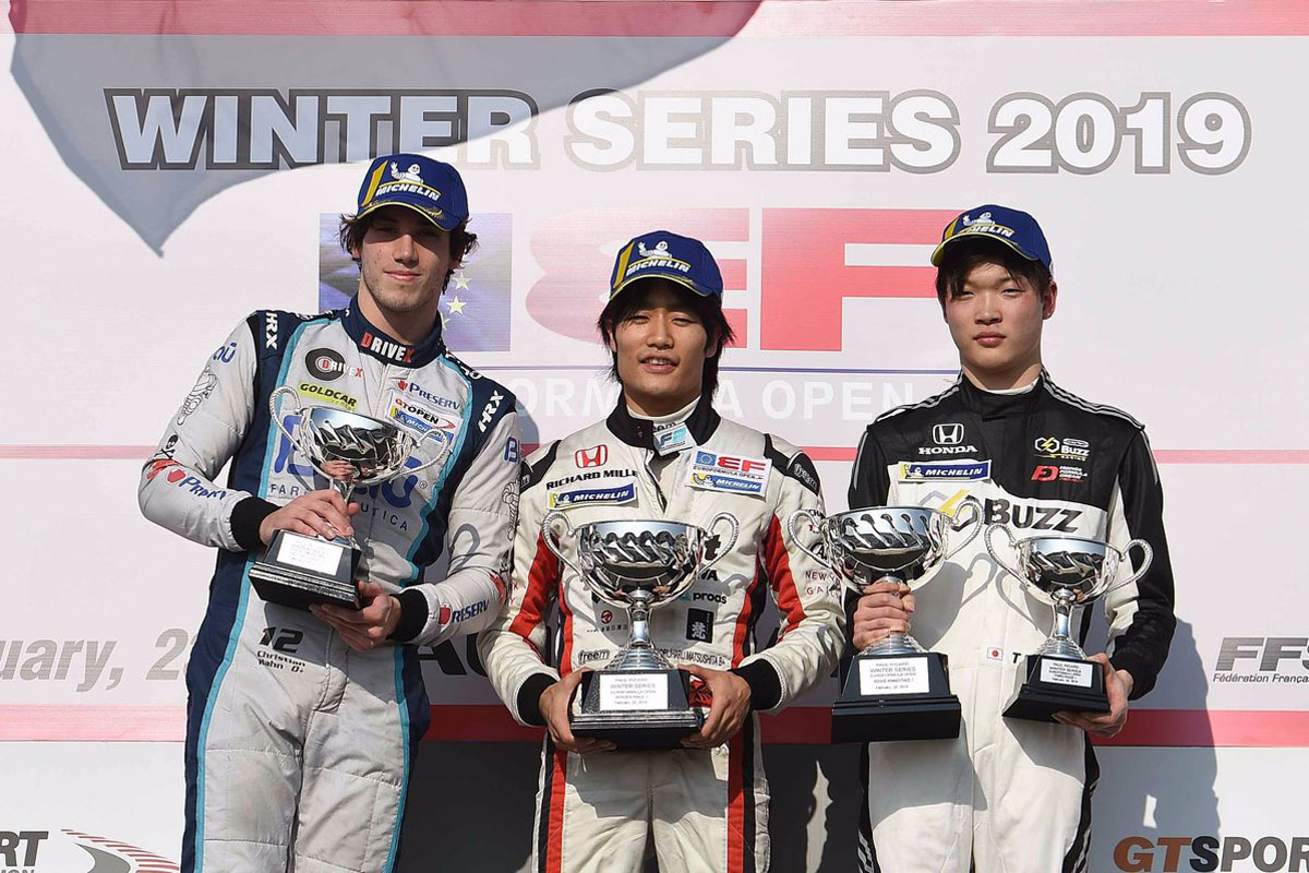 Euroformula Open Winter Seriesに