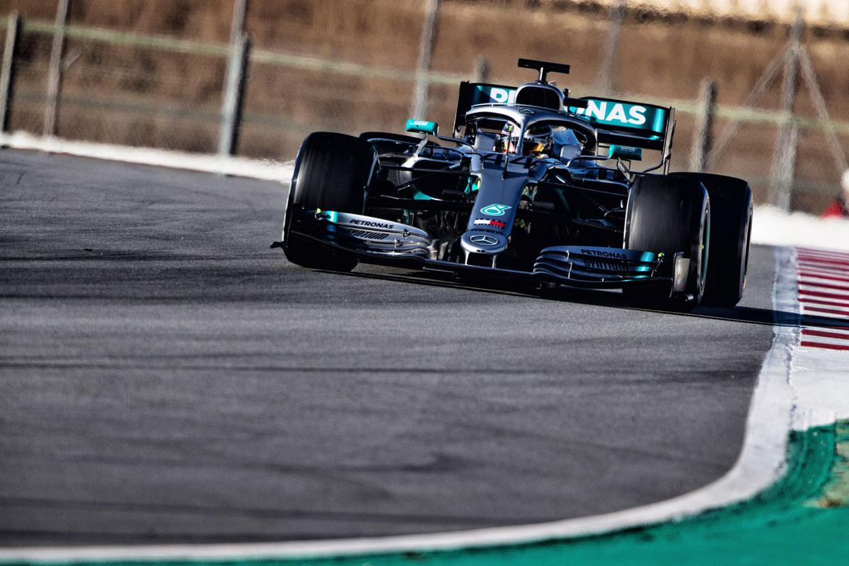 メルセデスAMG F1 W10