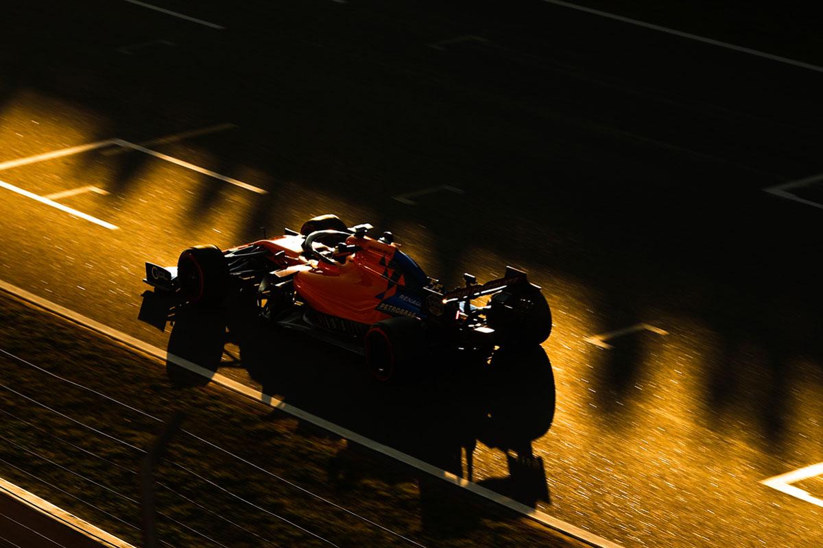 F1 バルセロナテスト 2日目