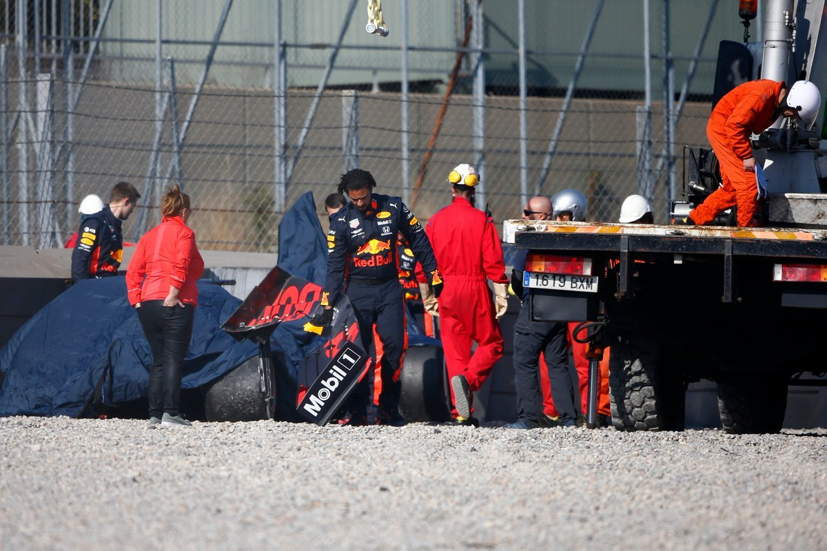 Pierre Gasly Crash