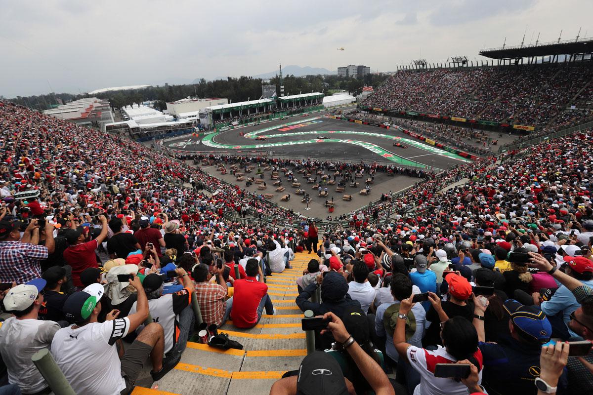 F1 メキシコグランプリ