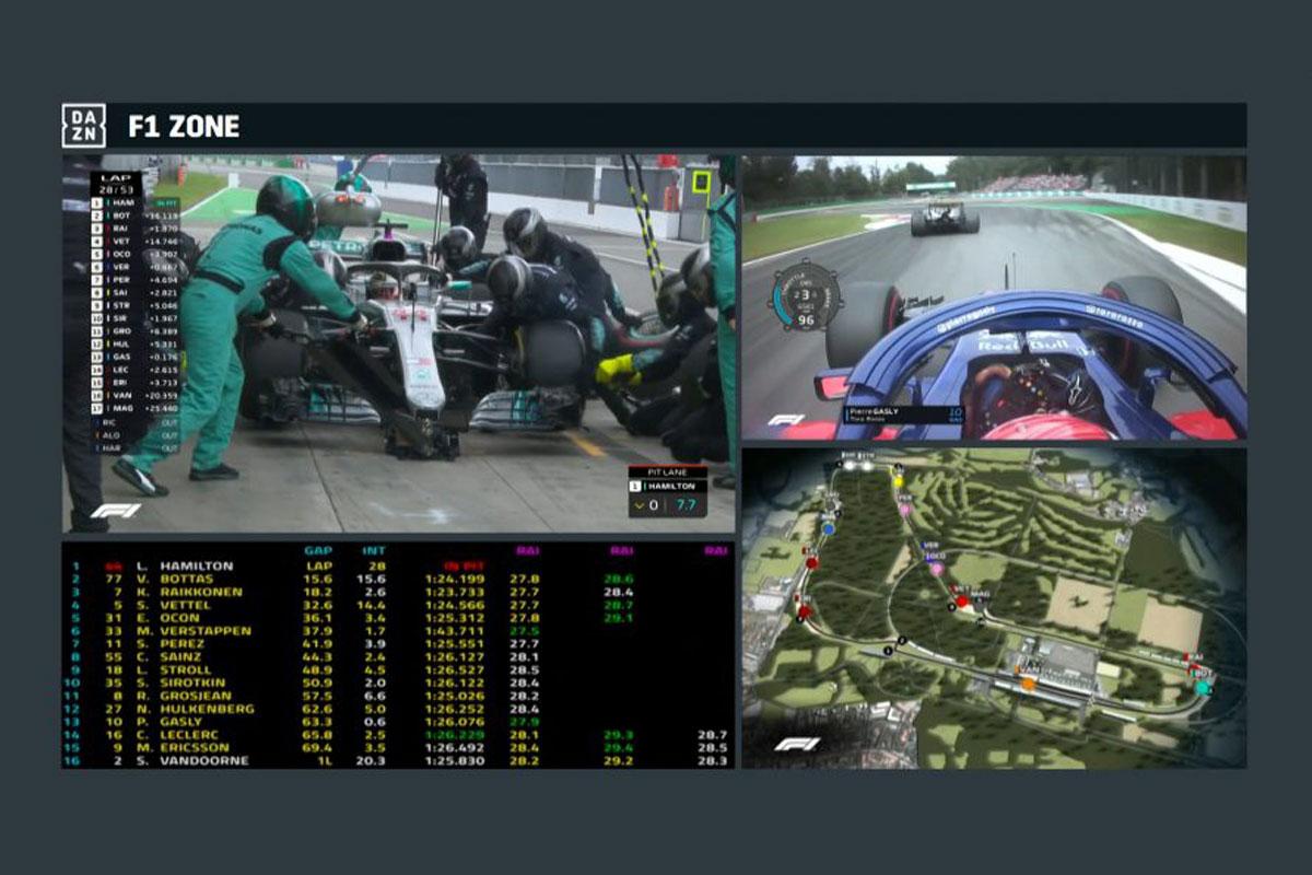 F1 2019年のF1世界選手権 DAZN