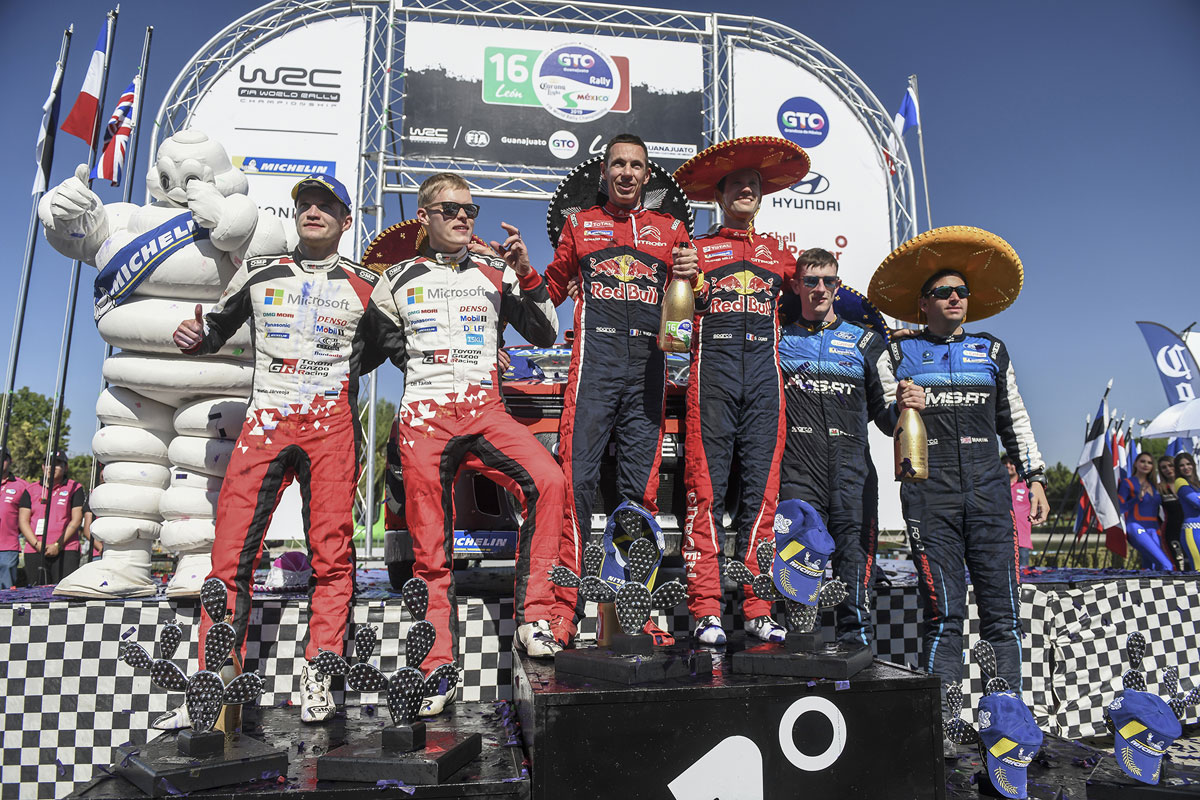 WRC トヨタ ラリー・メキシコ