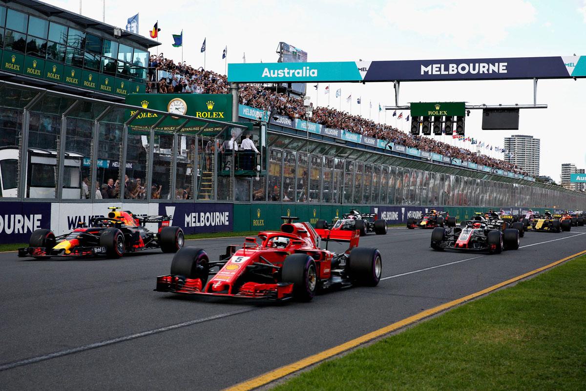 2019年 F1オーストラリアGP テレビ放送時間&タイムスケジュール ...