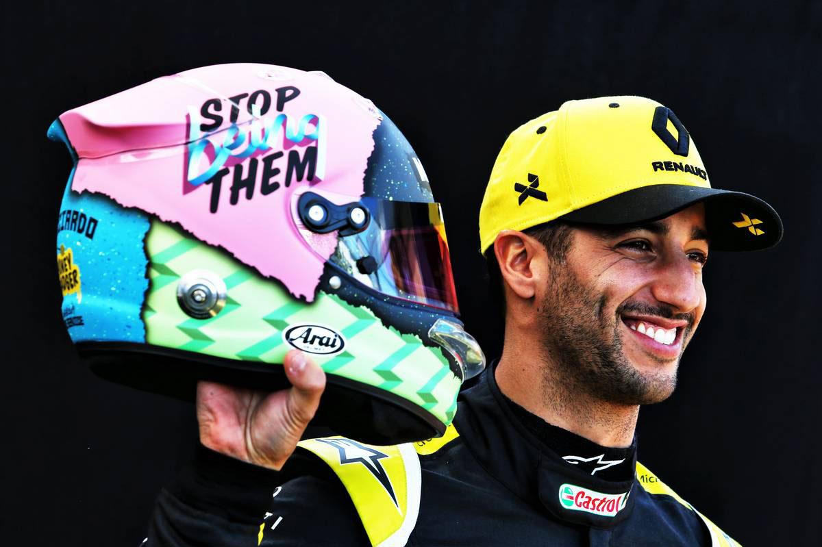 F1 ダニエル・リカルド ルノーF1 2019年のF1世界選手権
