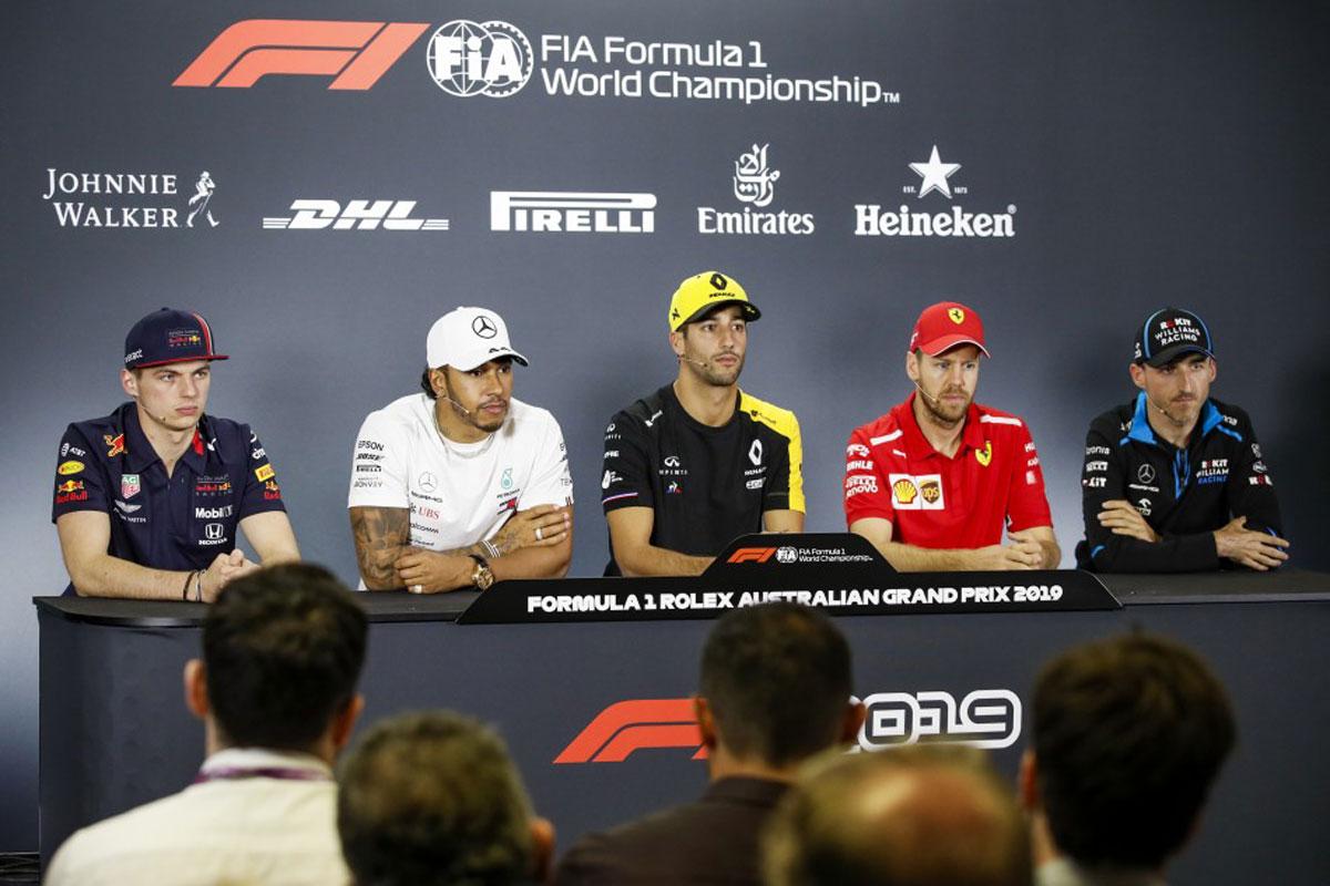 F1 チャーリー・ホワイティング オーストラリアグランプリ