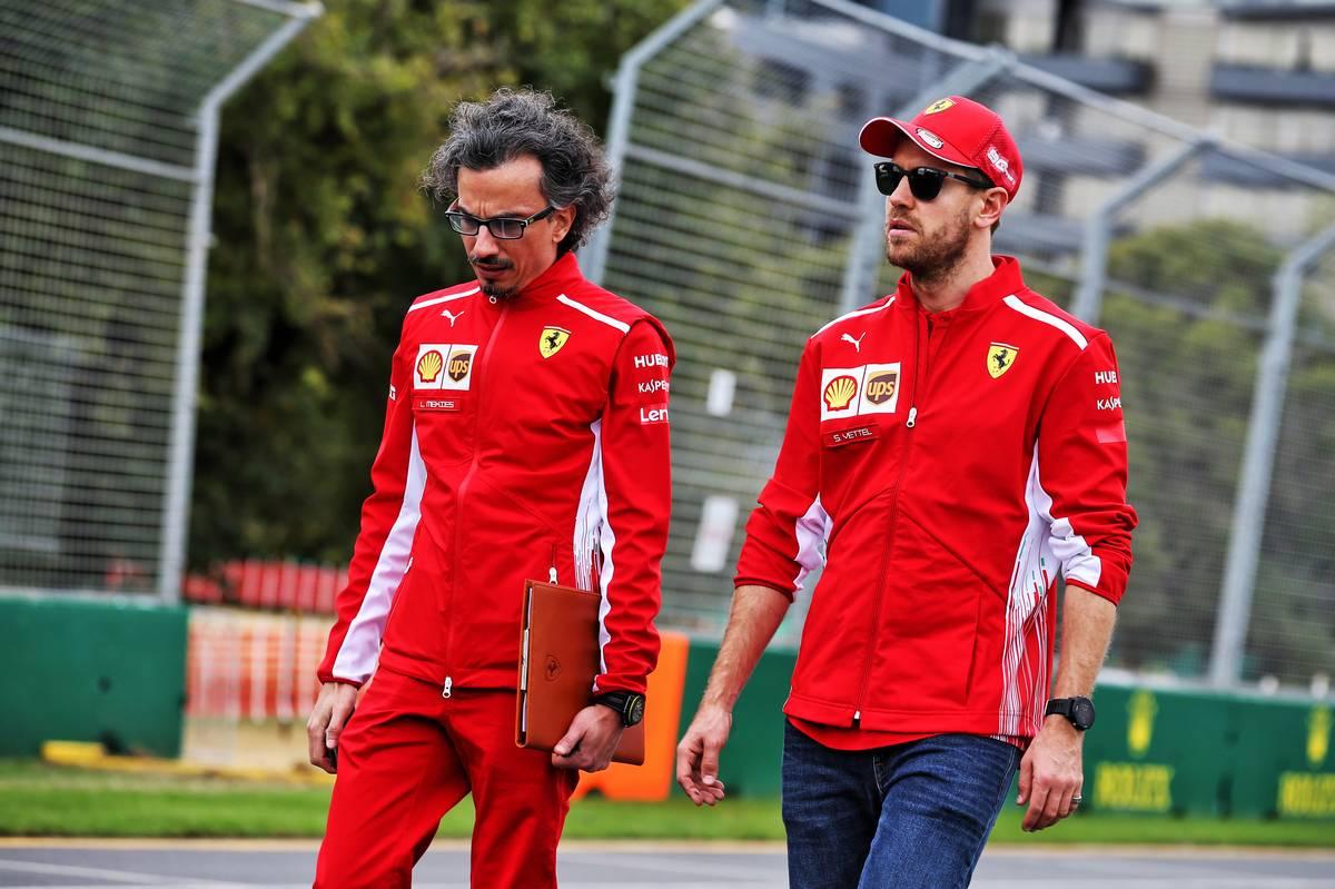 F1 セバスチャン・ベッテル フェラーリ オーストラリアグランプリ