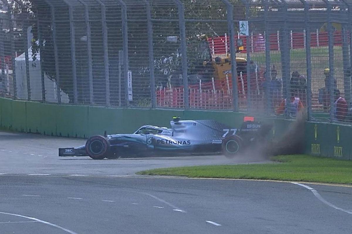 F1 バルテリ・ボッタス オーストラリアグランプリ