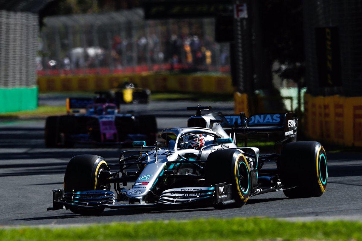 F1 オーストラリアグランプリ ルイス・ハミルトン