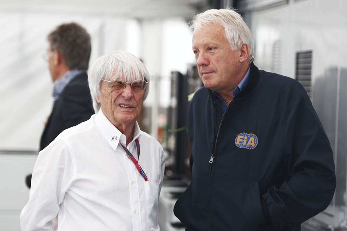 F1 バーニー・エクレストン チャーリー・ホワイティング