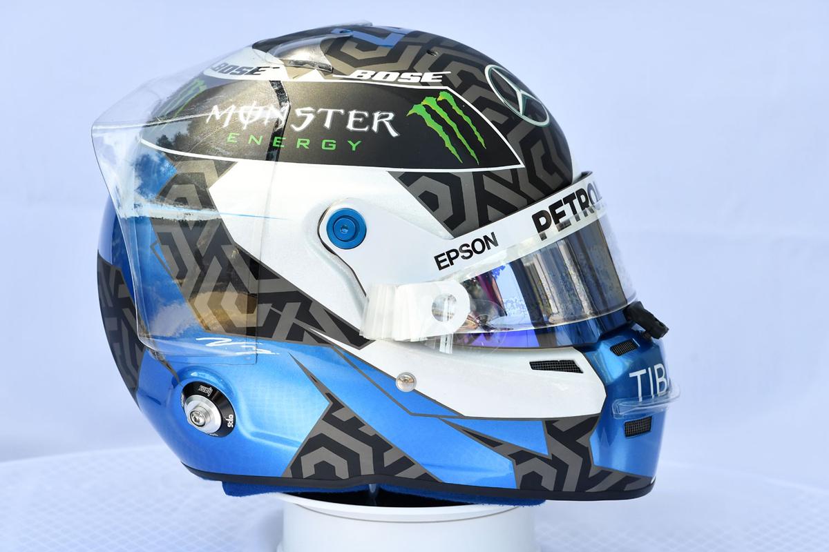 バルテリ・ボッタス:2019年 F1ヘルメット