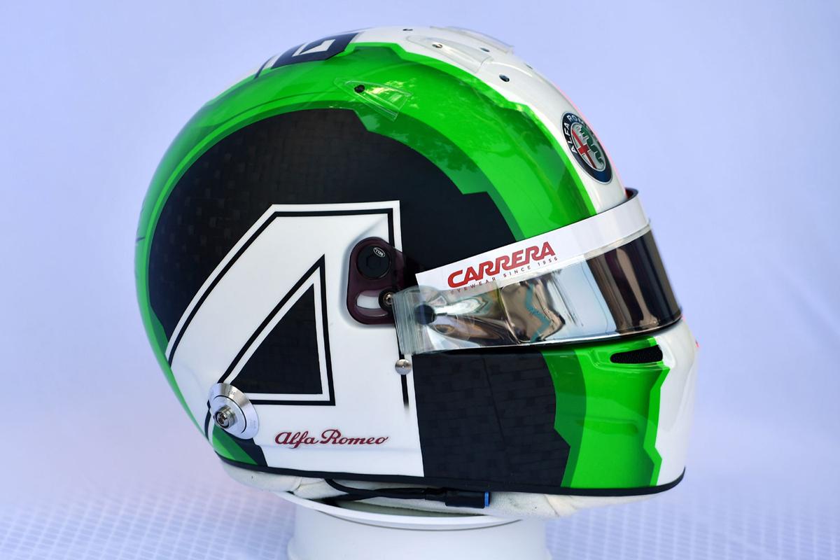 アントニオ・ジョビナッツィ:2019年 F1ヘルメット