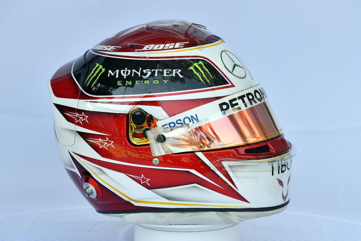 ルイス・ハミルトン:2019年 F1ヘルメット