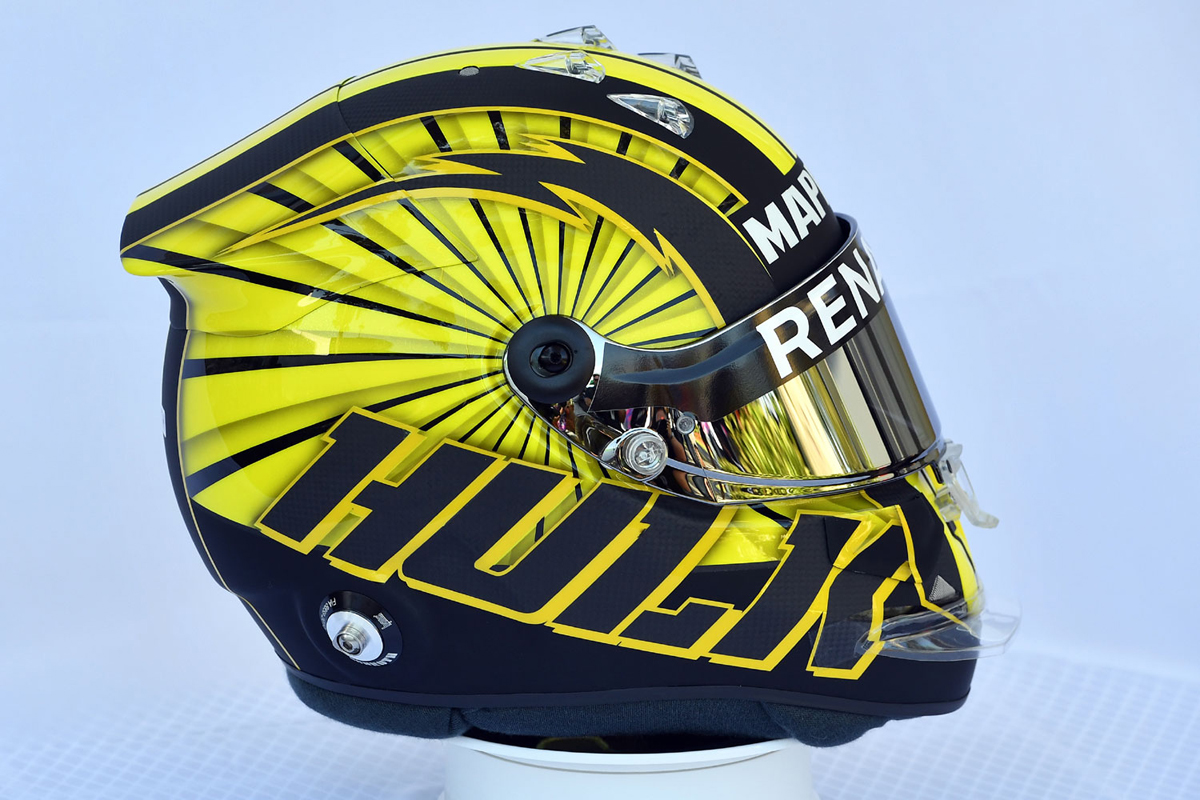 ニコ・ヒュルケンベルグ 2019年 F1ヘルメット