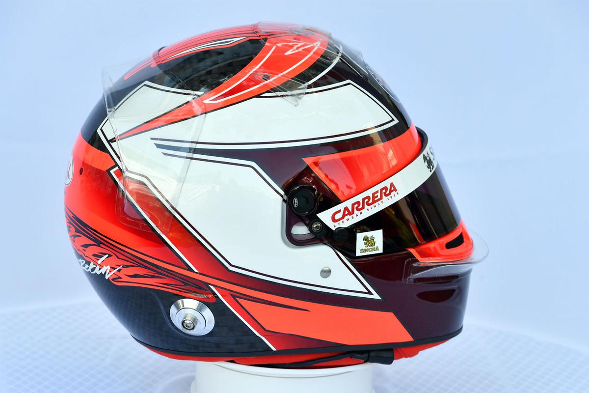 キミ・ライコネン:2019年 F1ヘルメット