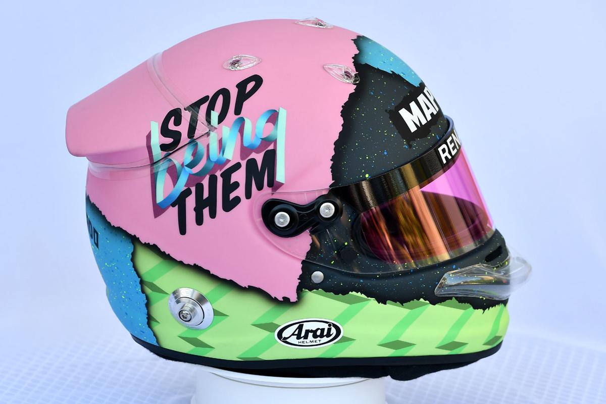 ダニエル・リカルド:2019年 F1ヘルメット