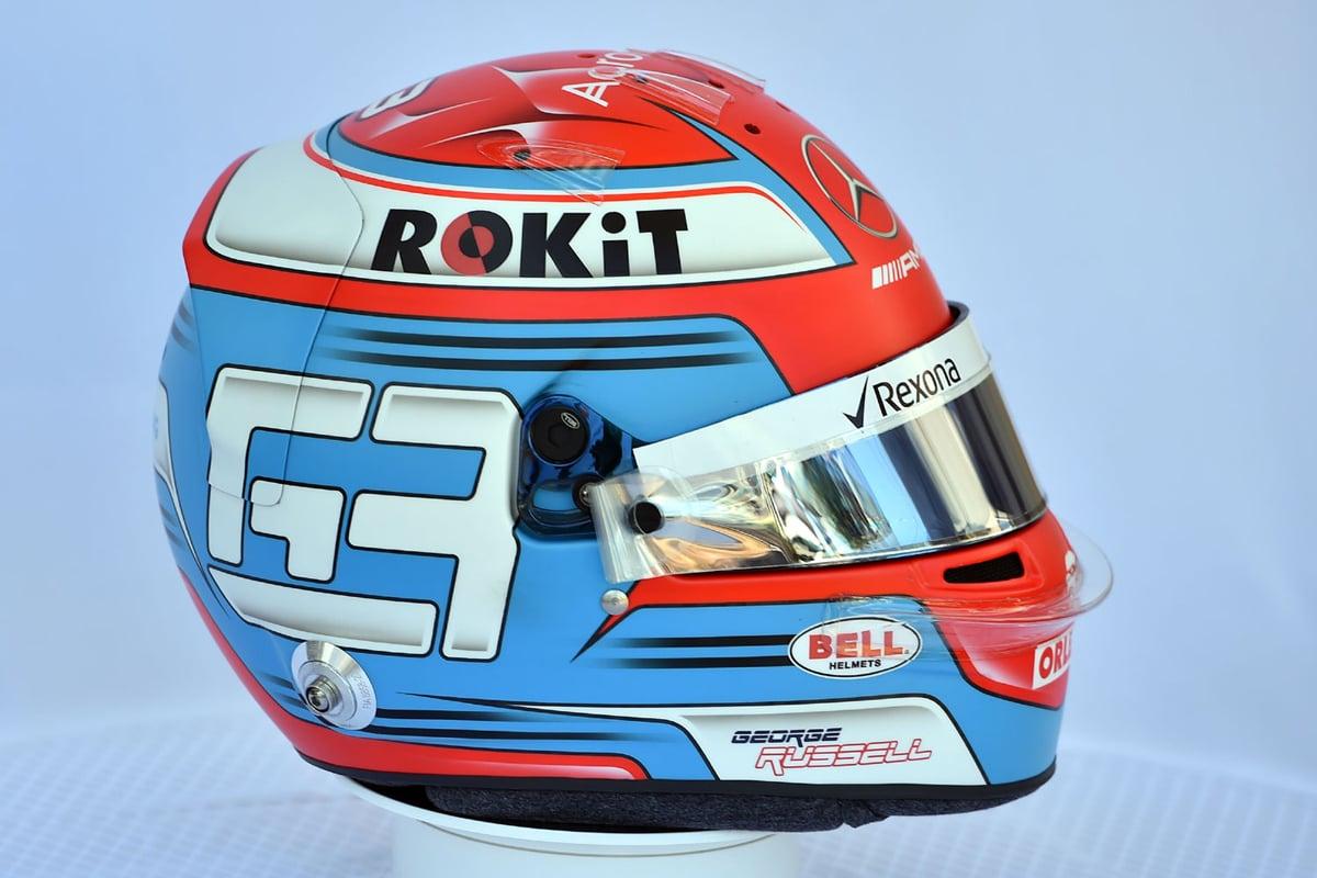 ジョージ・ラッセル:2019年 F1ヘルメット