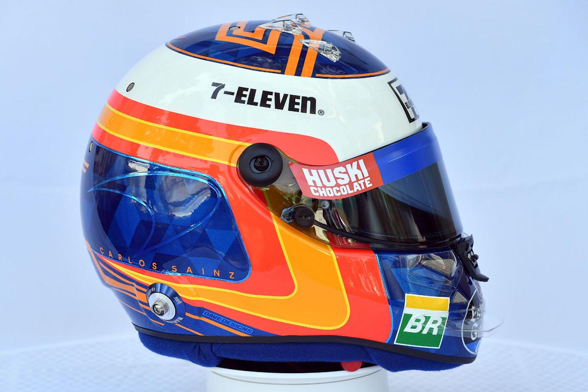 カルロス・サインツ 2019年 F1ヘルメット