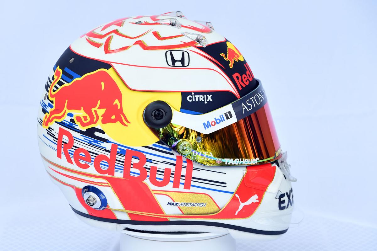 マックス・フェルスタッペン:2019年 F1ヘルメット