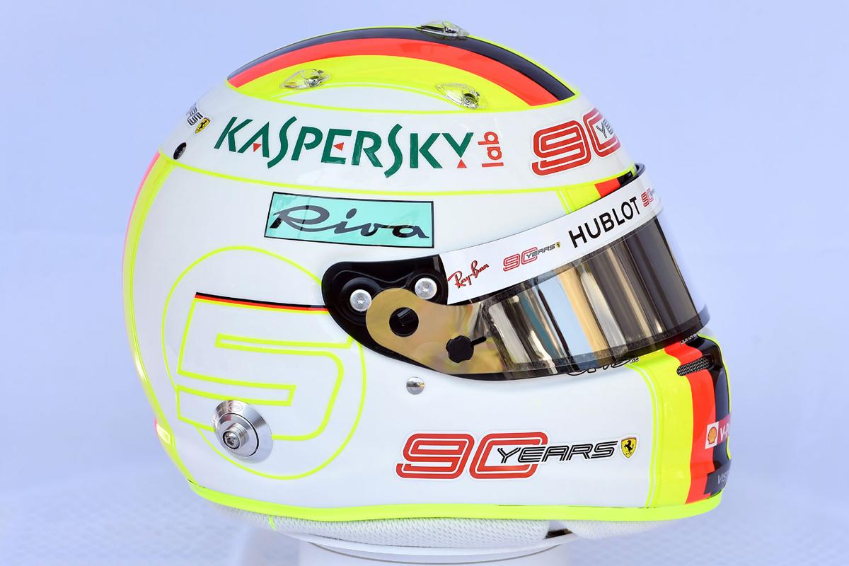 セバスチャン・ベッテル 2019年 F1ヘルメット