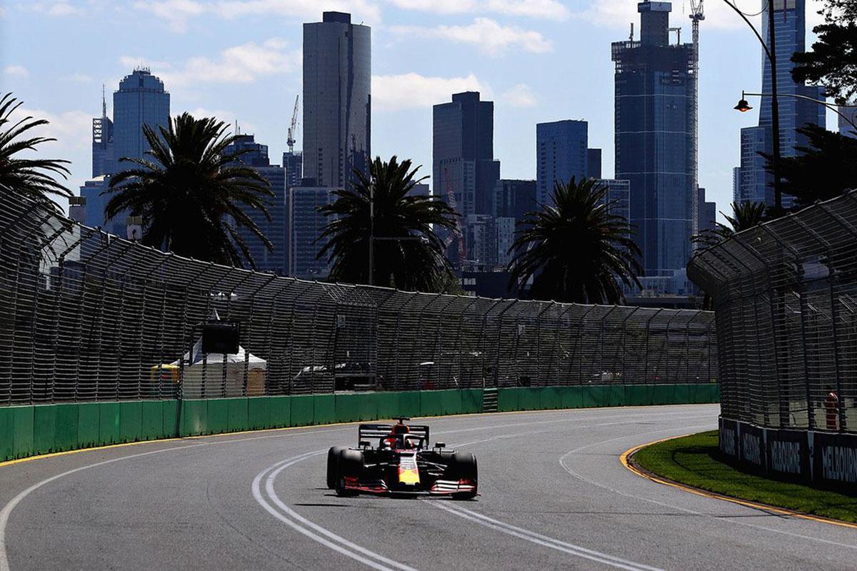 F1 オーストラリアグランプリ フリー走行1回目