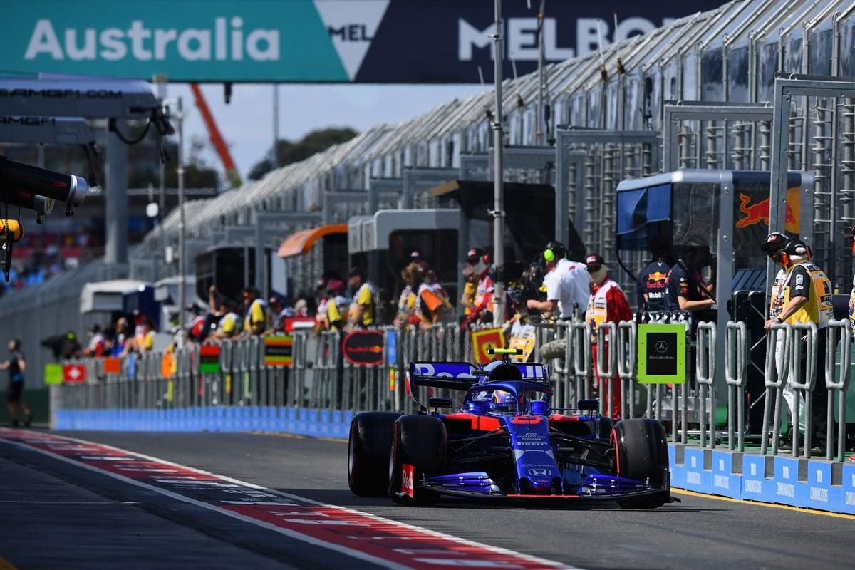 F1 オーストラリアグランプリ トロロッソ・ホンダ