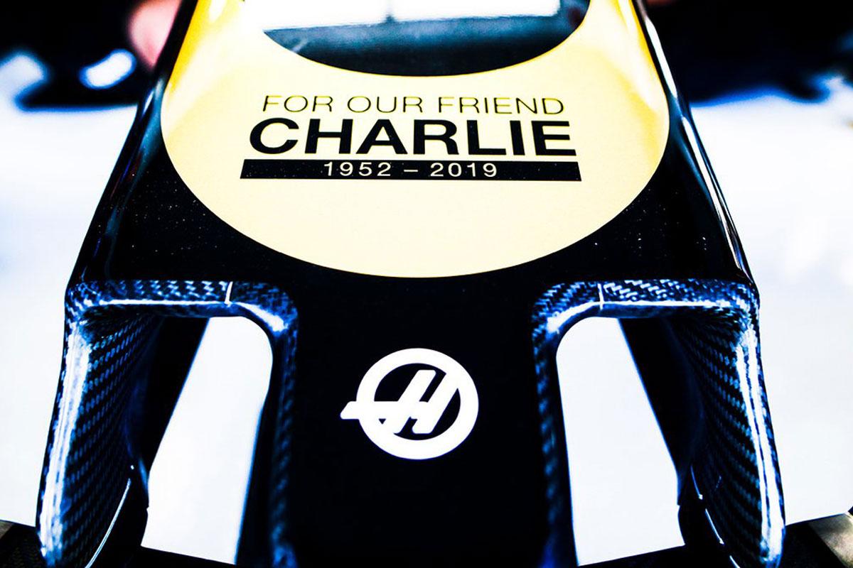 F1 ハースF1チーム チャーリー・ホワイティング