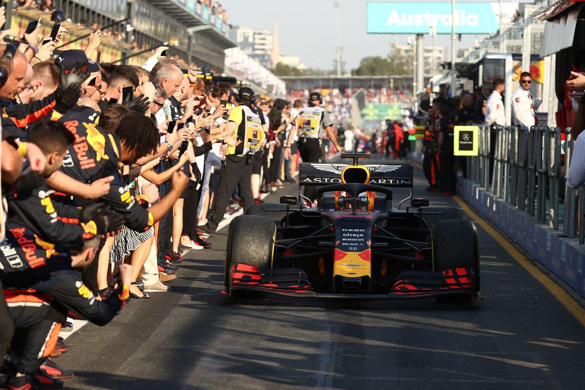 F1 レッドブル・ホンダ オーストラリアGP