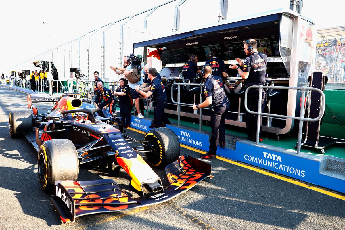 F1 レッドブル ホンダ