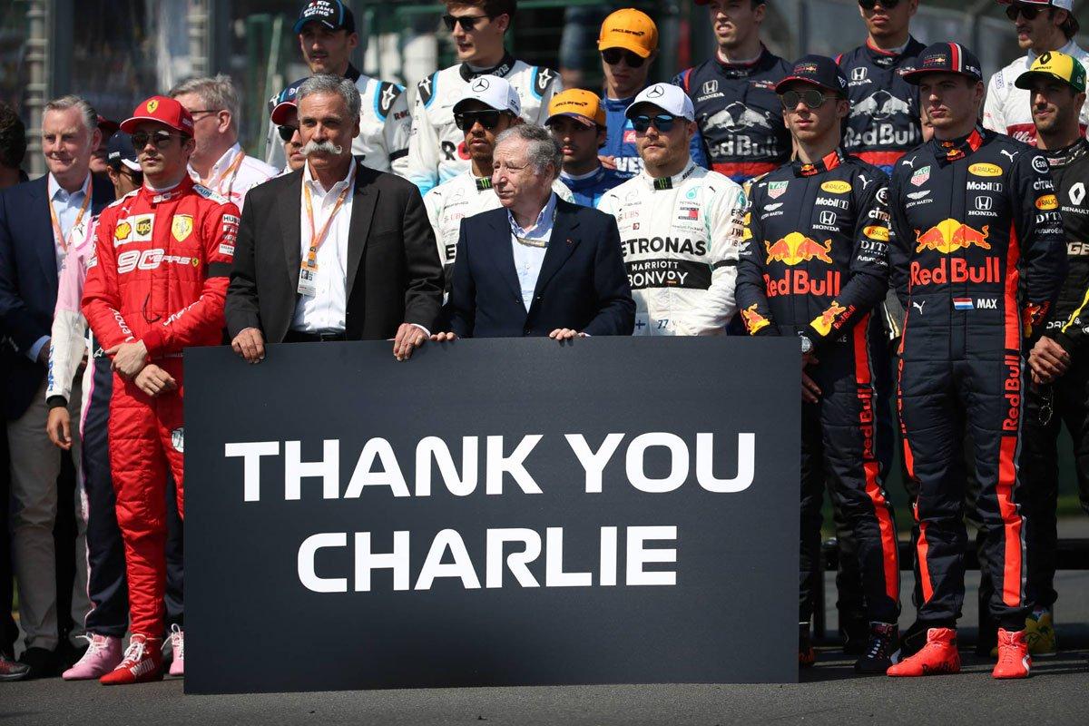 F1 チャーリー・ホワイティング