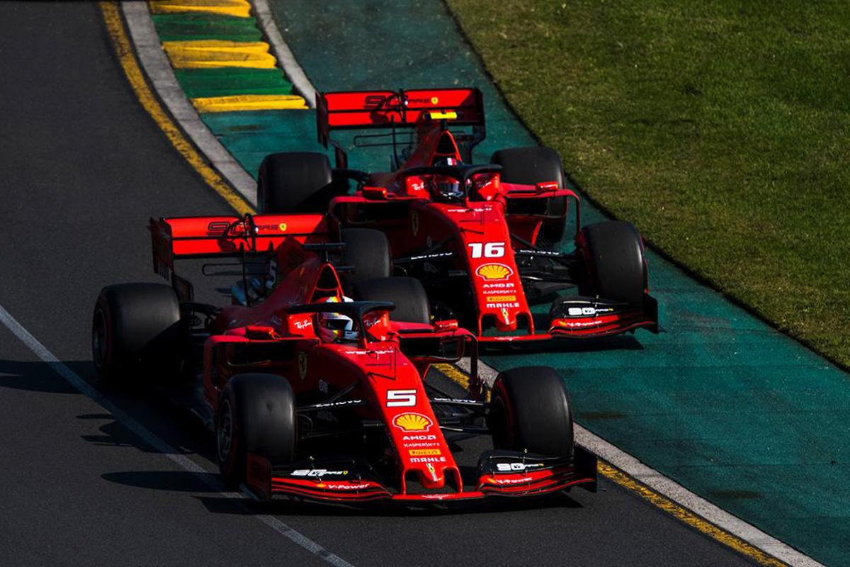 F1 フェラーリ オーストラリアGP