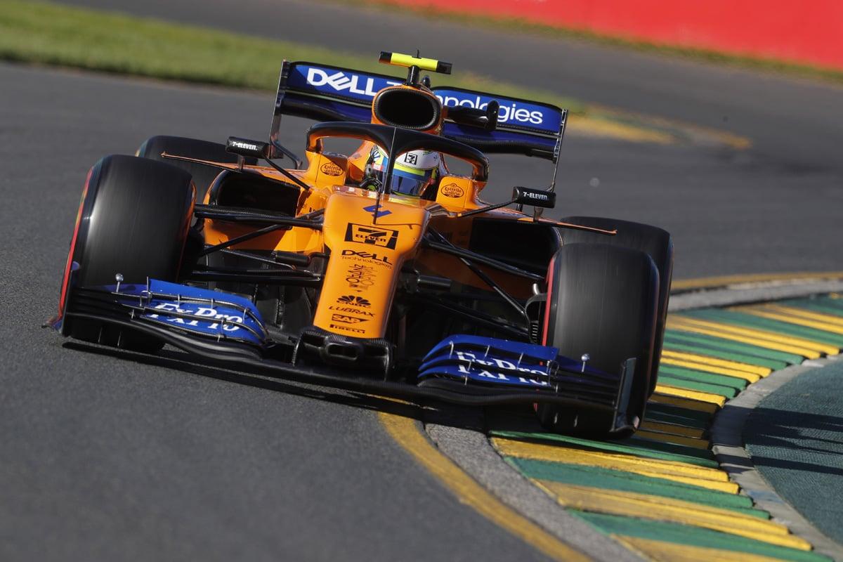 F1 マクラーレン オーストラリアGP