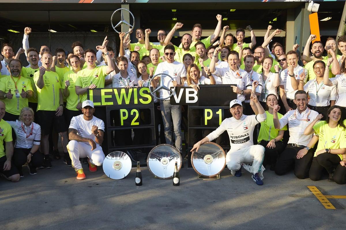 F1 メルセデス オーストラリアGP