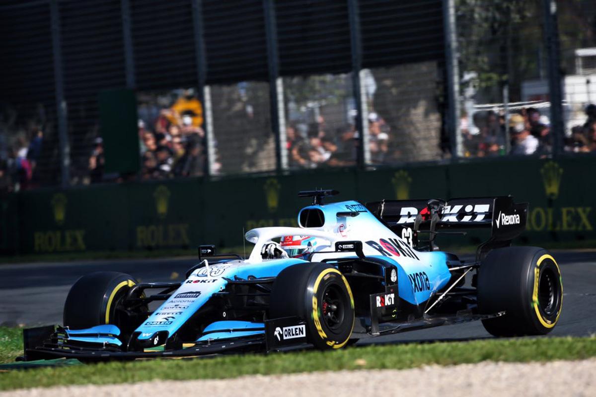 F1 ウィリアムズ オーストラリアGP