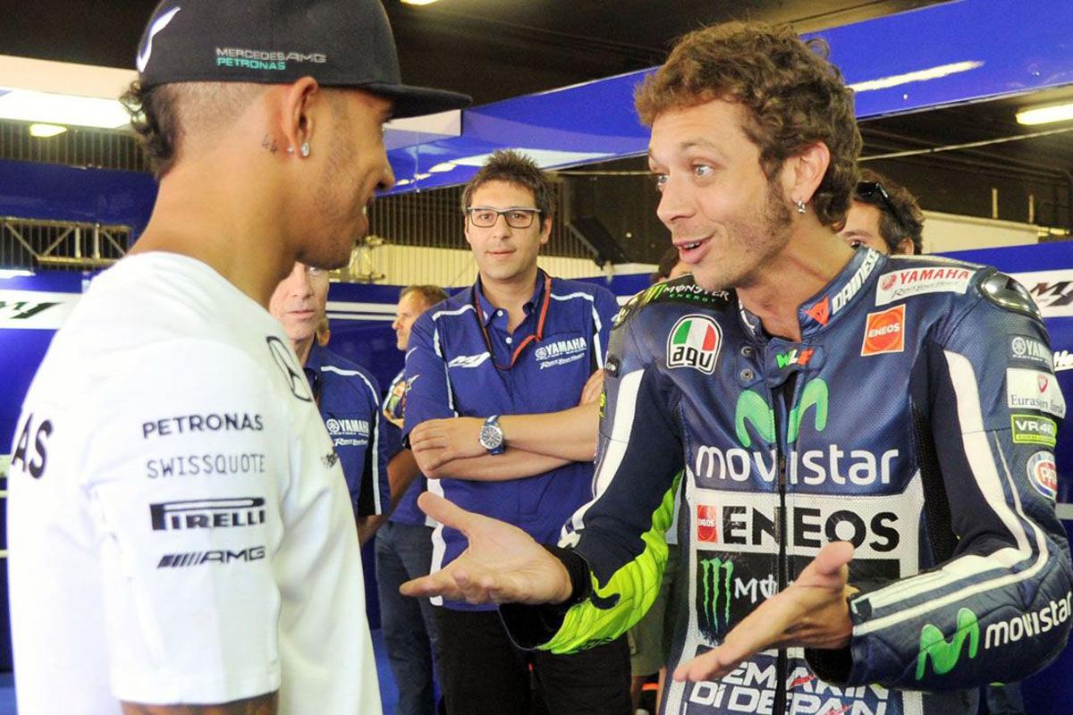 F1 ルイス・ハミルトン MotoGP