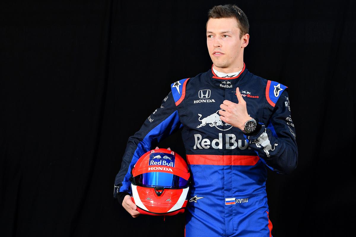 F1 ダニール・クビアト