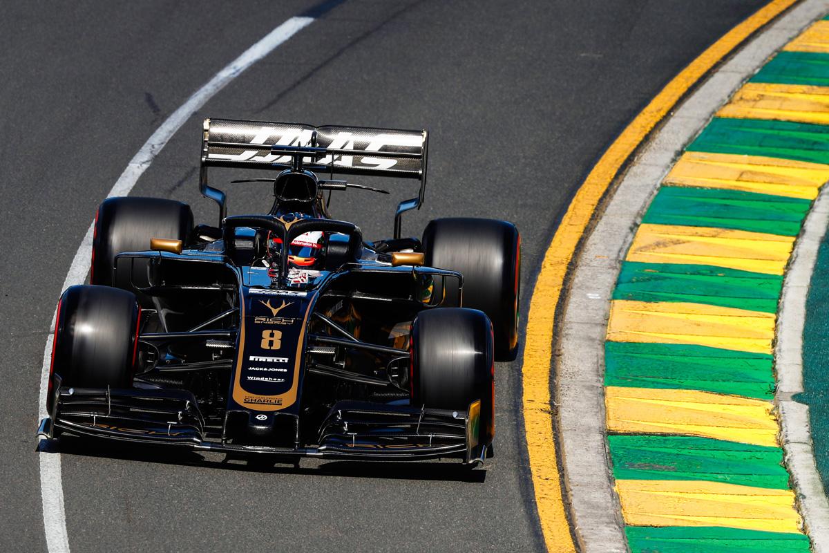 F1 ロマン・グロージャン レッドブル・ホンダ