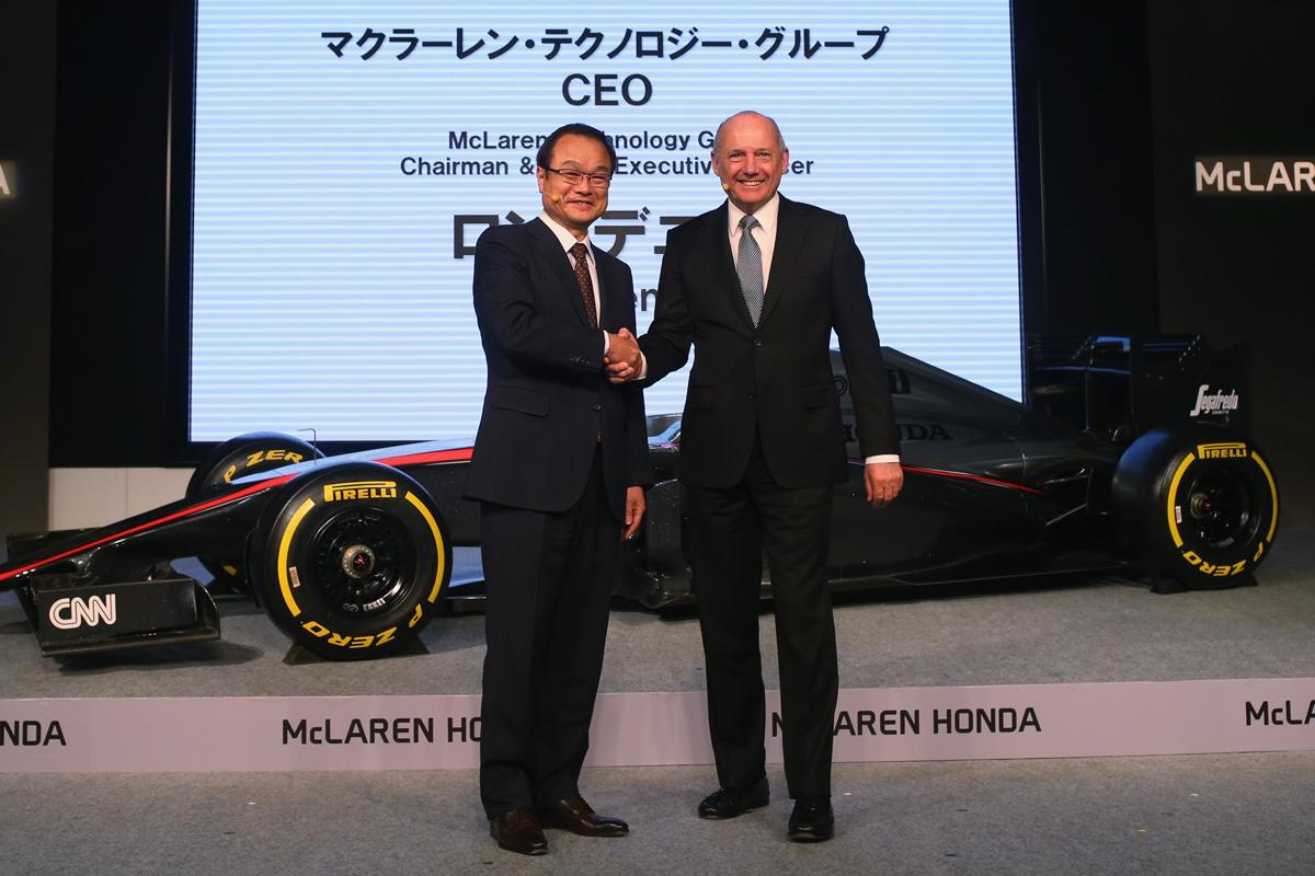 F1 マクラーレン ホンダF1