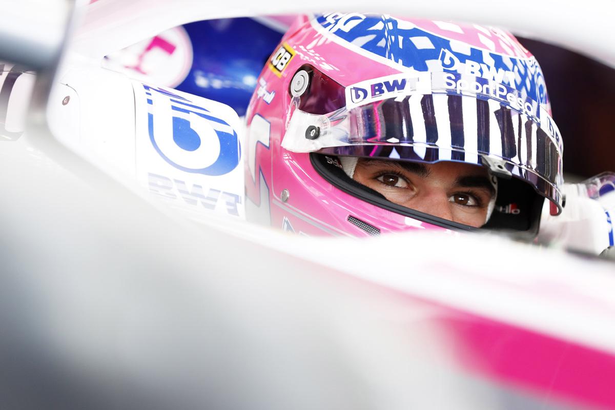 F1 ランス・ストロール レーシングポイント