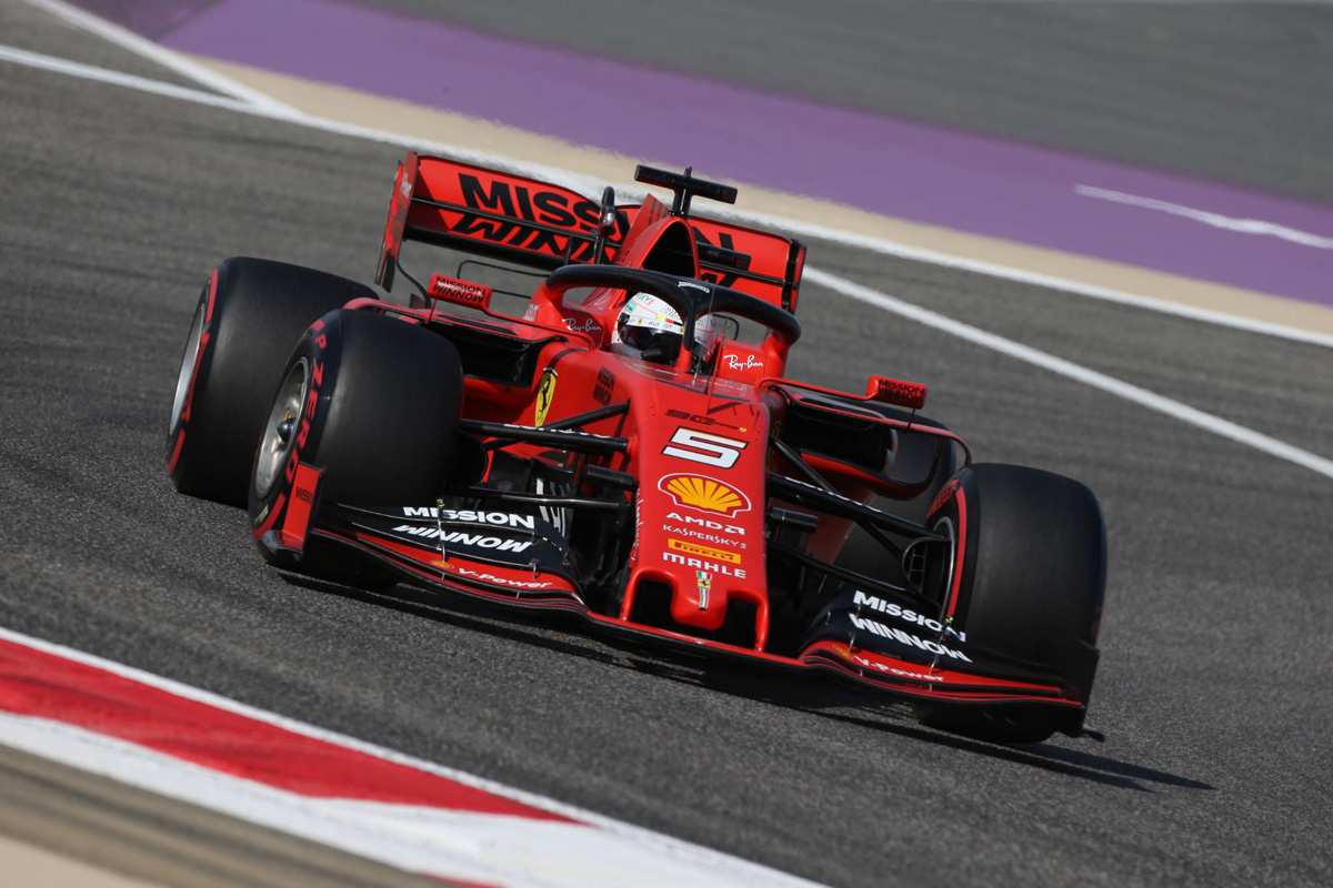 F1 バーレーンGP FP2 結果