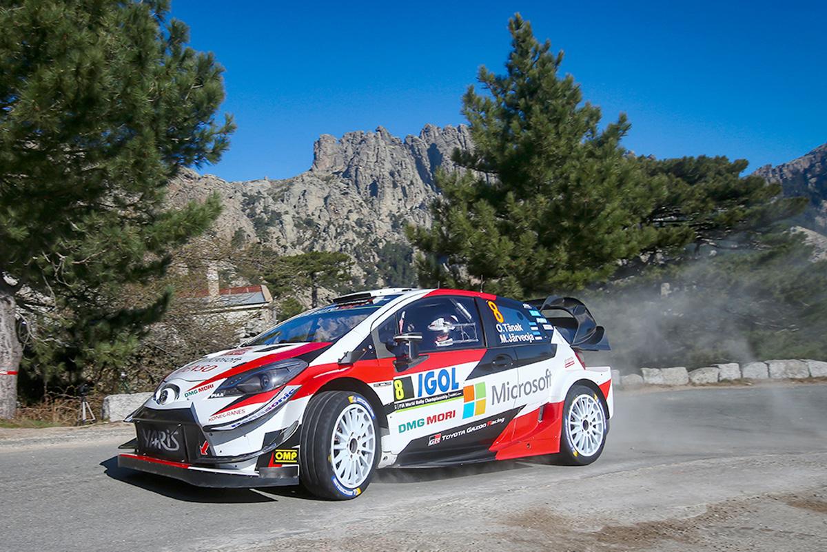 WRC トヨタ ラリー・フランス