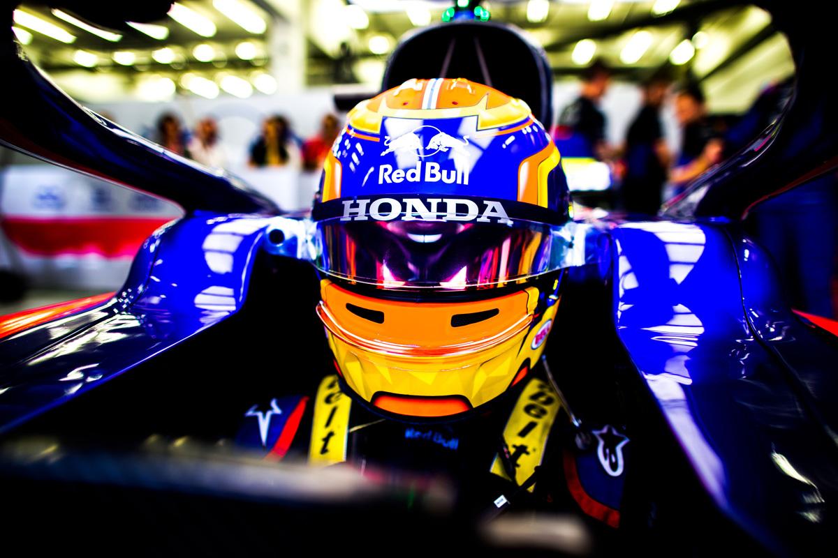 F1 アレクサンダー・アルボン ホンダF1