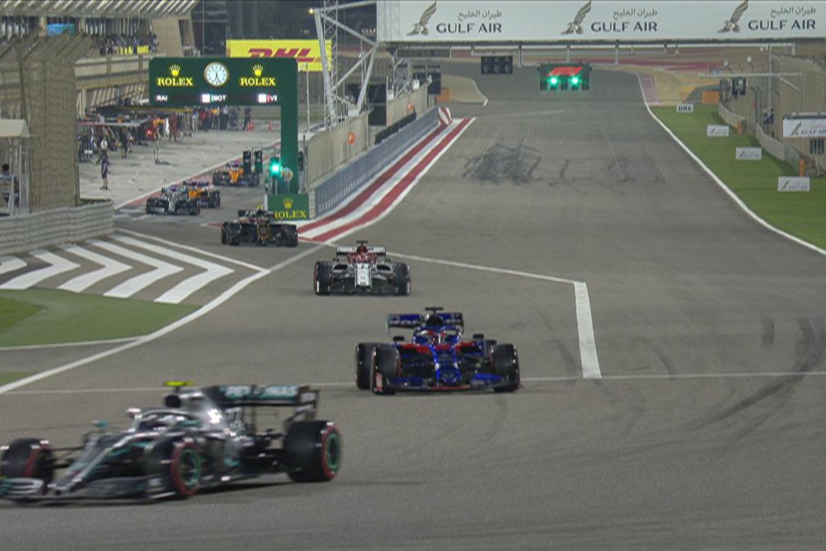 F1バーレーンGP 予選Q2 結果