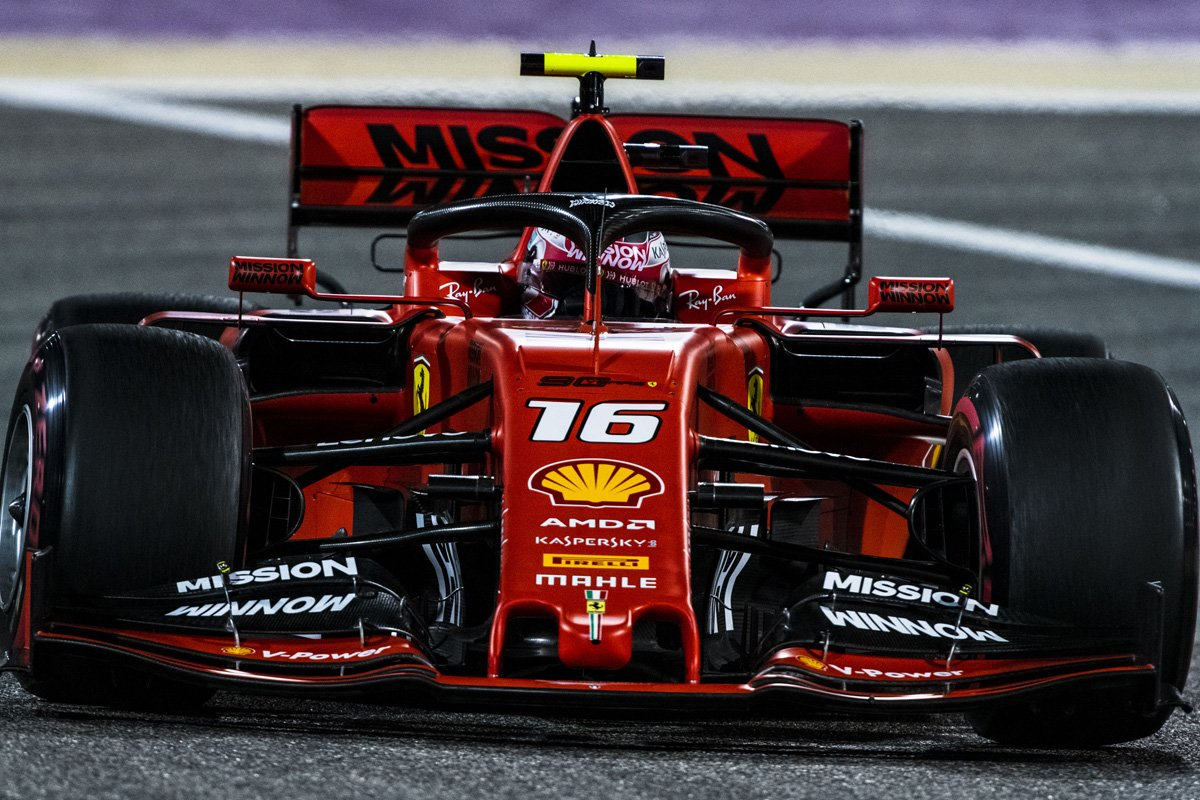 F1 バーレーンGP シャルル・ルクレール