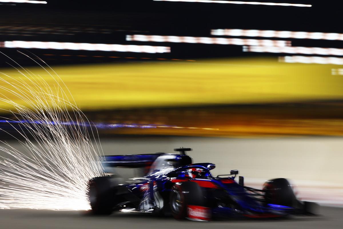 F1 トロロッソ・ホンダ ダニール・クビアト