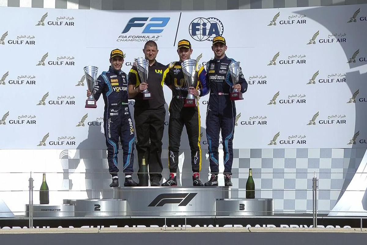 F2 バーレーン レース2