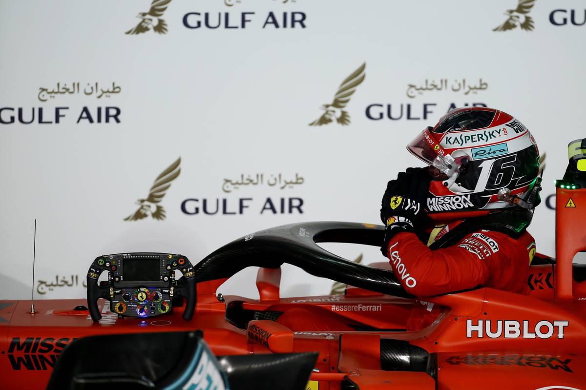 F1 フェラーリ シャルル・ルクレール