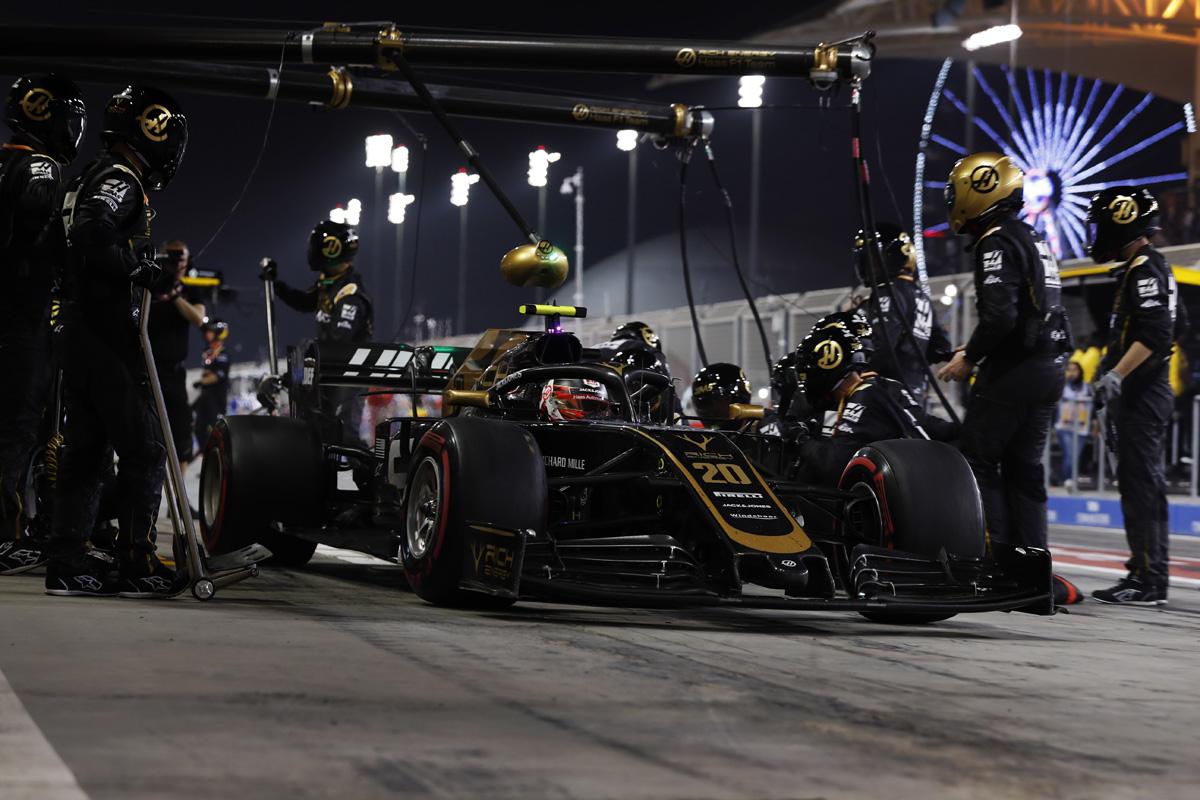 F1 ハースF1チーム バーレーンGP