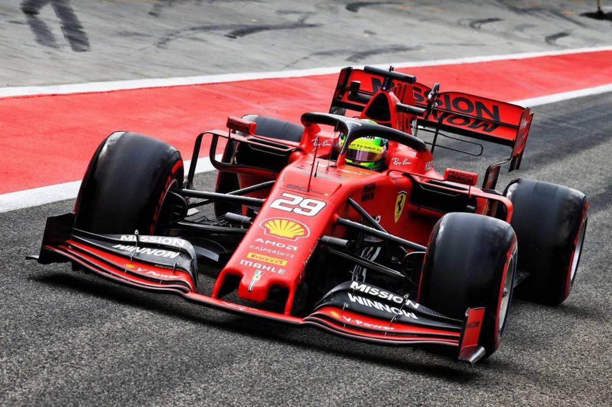 F1 ミック・シューマッハ フェラーリ