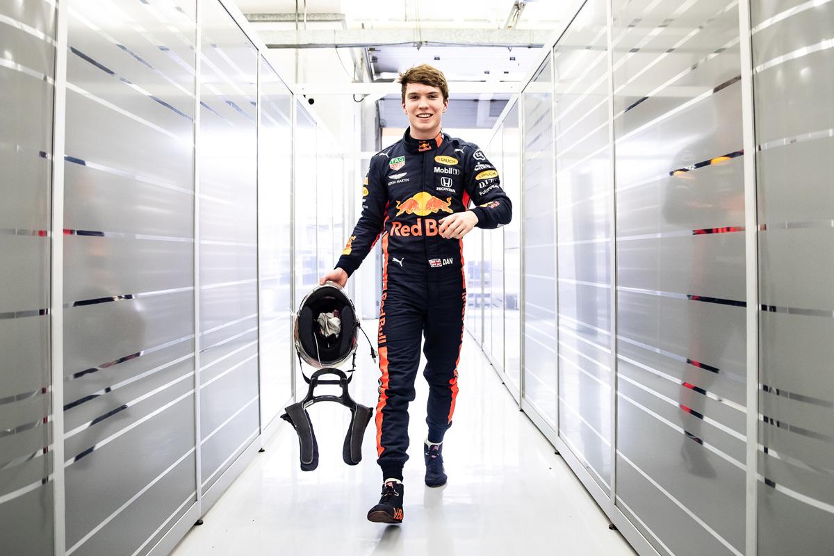Red Bull Honda - Daniel Ticktum